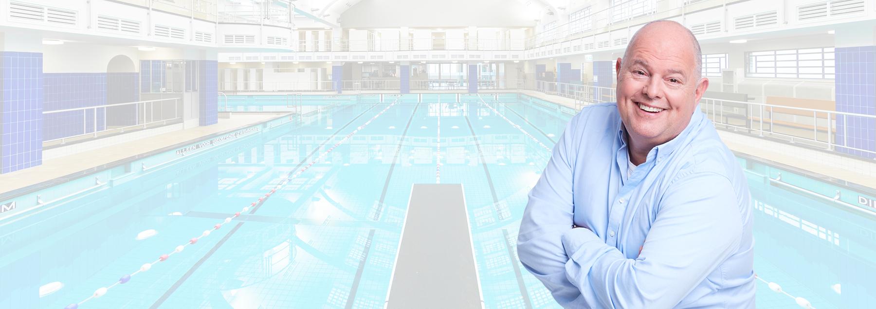 ''Laatst werd een van onze baden wederom gekozen als zwembad van het jaar. Echt een waardering voor ons werk''